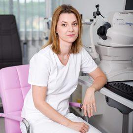 MUDr. Andrea Liesnerová - Vedie očnú ambulanciu