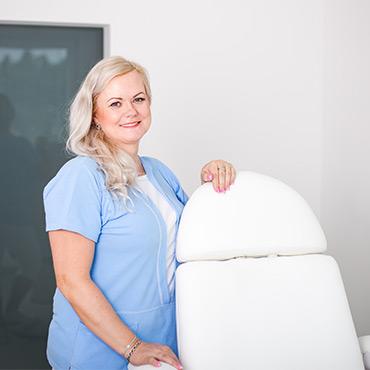 Andrea Hlobejová - zdravotná sestra na klinike B Medic v Martine
